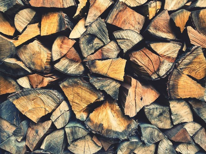 Pieces of Wood Texture Background Lumber Firewood Piece Of Wood Full Frame Pattern No People Log Timber Wood Wood - Material Lumber Industry Nature Tree Stack EyeEmNewHere