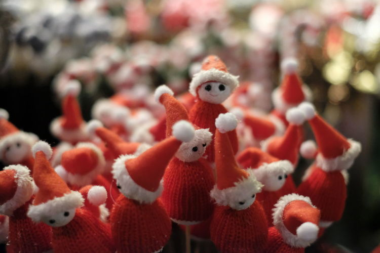 Representation Toy Art And Craft Close-up Stuffed Toy Holiday Focus On Foreground Creativity Red Figurine  Celebration Day Selective Focus For Sale Chinese New Year Softness Retail  Toy Animal Animal