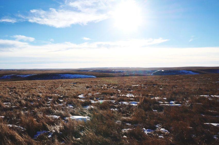 South Dakota Badlands Hunting Landscape Prarie