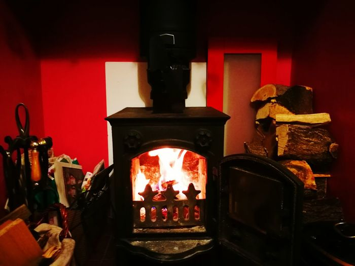 Spirituality Religion Place Of Worship Flower Day Altar Freshness England In Autumn Inglenook Fire Wood Burner Always Be Cozy