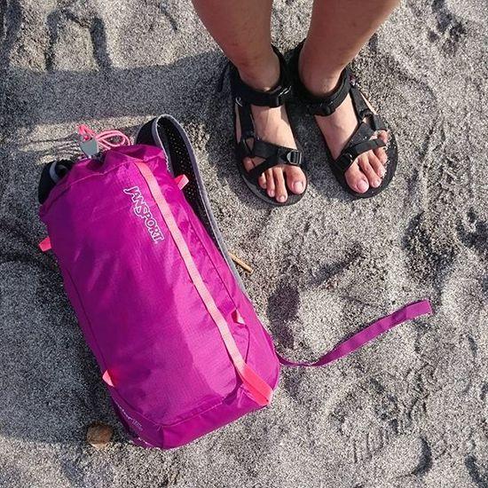 Let's go! Lostinph Jansport Beach PundaquitZambales Sand Footscapes Feet