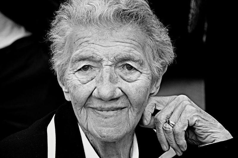 RePicture Ageing Wisedom Living History Survivor Monochrome Blackandwhite Blackandwhitephotography Portrait Of A Woman Portrait People