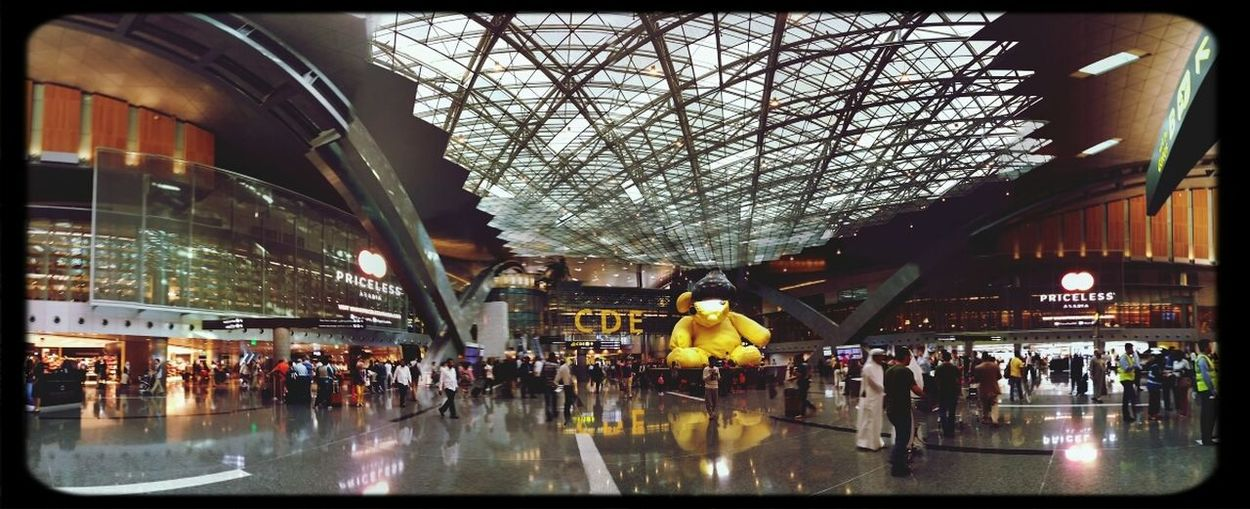 The Market place in DOH Airport Hamad International Airport (DOH) Qatar