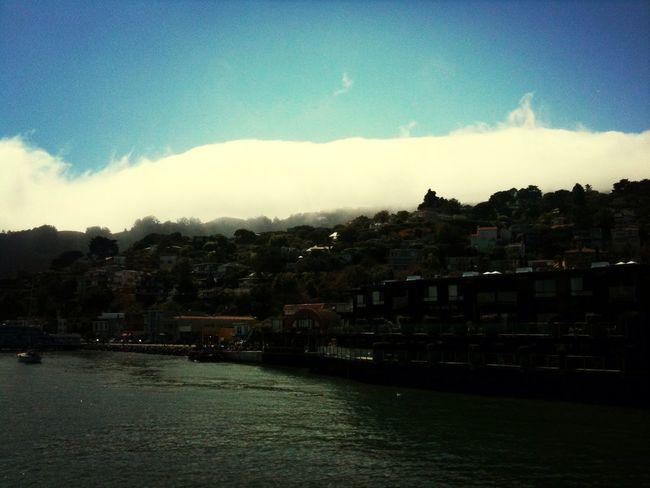 Beautiful Town in SF Sosalito San Francisco Town View