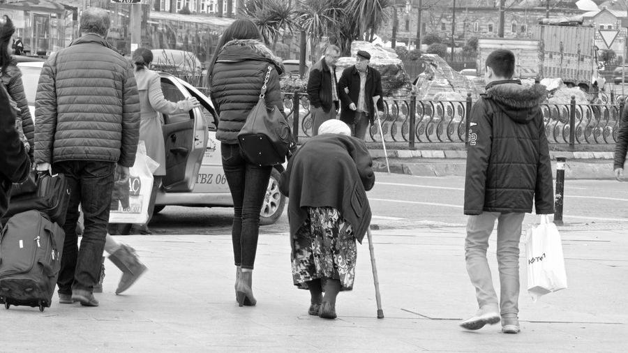 Black City Life EyeEm EyeEm Gallery Front View Girl Holiday What Who Where Monochrome Old People People Photography Real People Rear View Showcase: February Street Street Photography Streetphoto_bw Streetphotography Taking Photos Urban Walking Weekend Women Urban Spring Fever The Street Photographer - 2017 EyeEm Awards