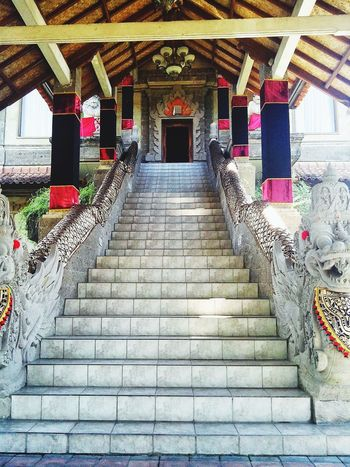 Klungkung Bali Architecture Building Asian Culture Stairways