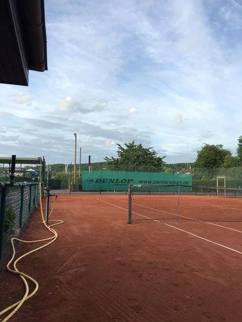 Düsseldorf Tennis Sport Sky Court No People Outdoors Day
