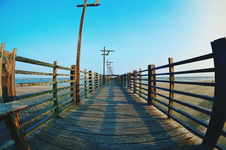My Way Bridge - Man Made Structure City Vacations No People Outdoors Railing First Eyeem Photo The City Light