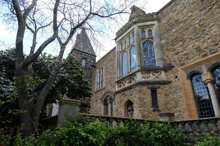 Shot at Montsalvat, Eltham. Architecture Castle Exterior Building Built Structure