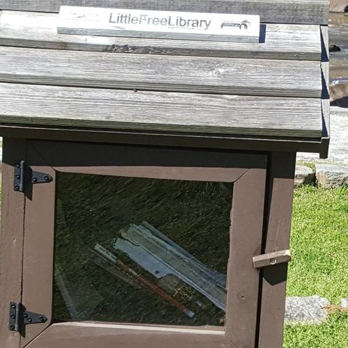 Little Free Library Text Communication Day Outdoors No People Nature Glendale Shoals Spartanburg, SC Love Where You Live Little Free Library Take One Leave One Library