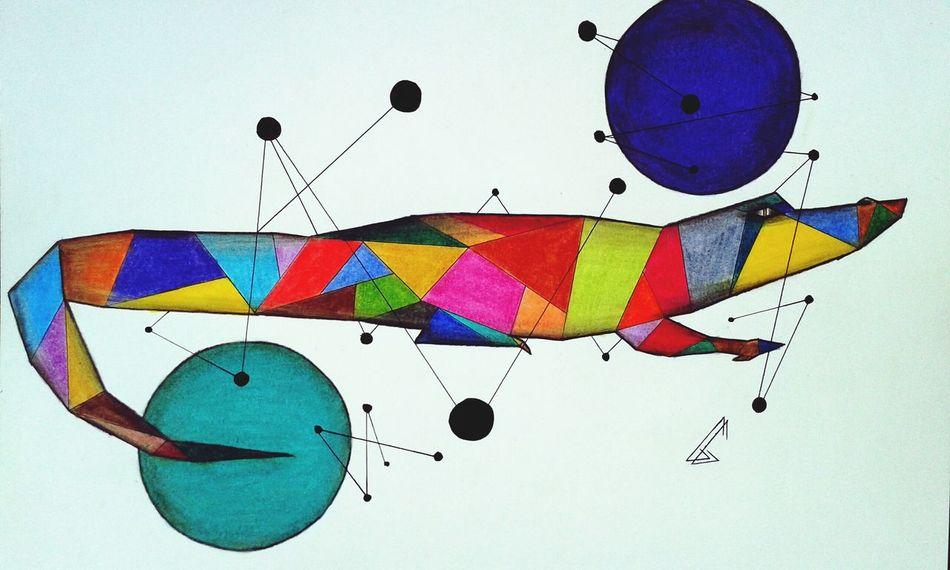 Doodle Drawing Art Colors