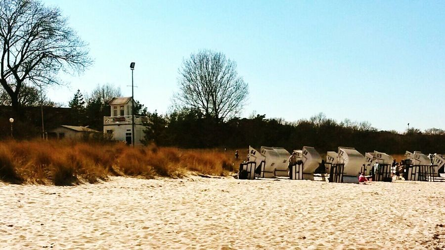 Baltic Sea Beachphotography Ostsee Strand strandkorb