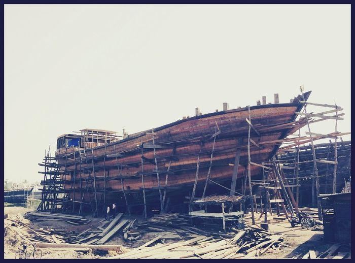 Ship Construction India Mandvi Photo Photography Indian_photographers EyeEmNewHere