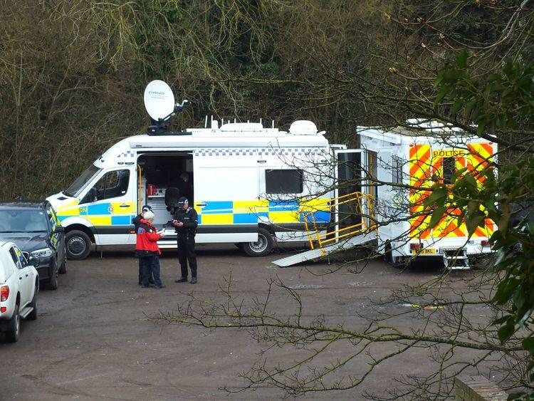 Police Police Police Van Swindon