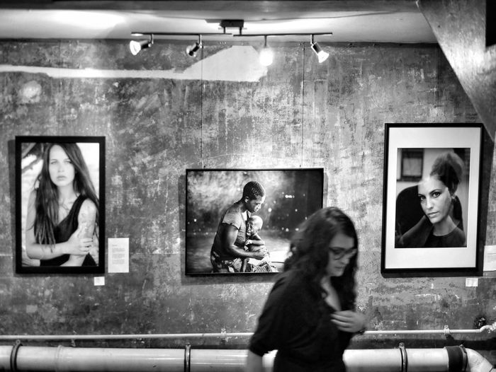 Diligent Tanja - MAinLoveWithCreation and Big Girl Busy In A Hurry  Hurry Hasty Walk By People Woman Monochrome Monochromatic Photography Monochrome Photography Black And White Bnw Bnw_maniac Bnw_captures Bnw_life Bnwphotography Busy People Exhibition Exhibition Opening Vernissage Art Creation How I See People