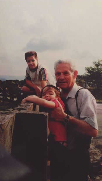 Fatherhood Moments Looking At Camera Tourism Vacations Travel Destinations Togetherness