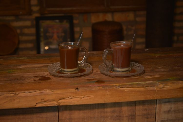 two cups Coffee