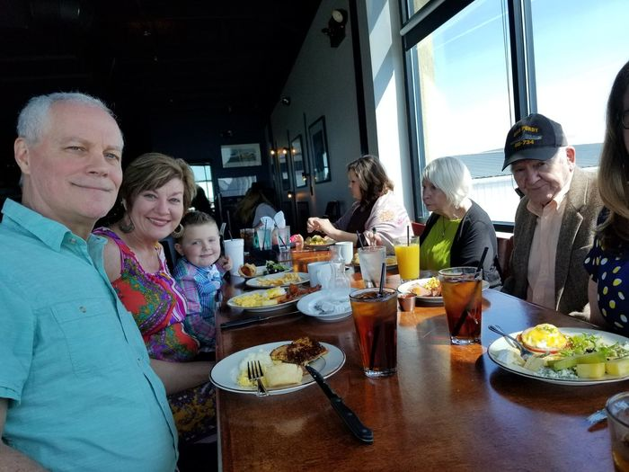 elevation chophouse and skybar Elevationchophouseandskybar Airport Kennesaw, Ga Family Bonding Eating Friendship Men Togetherness Sitting Domestic Life Smiling Enjoyment Service