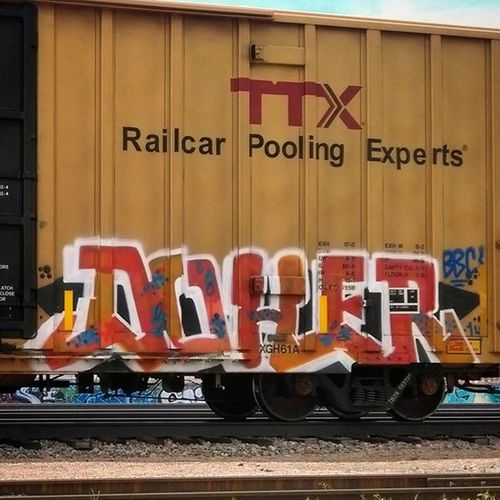Trains Train Trainswithgraffiti Fr8 Freighttraingraffiti Fr8Heaven Graffiti Graffhunter Doher