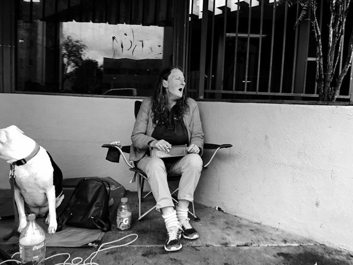 Sacramento IPhoneography Streetphotography Homeless Dogs