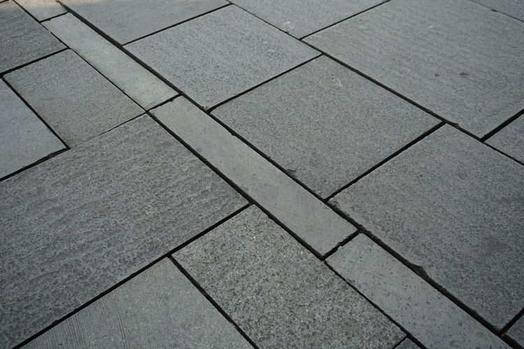 Stone material for flooring Pattern Backgrounds Full Frame No People Shape Textured  Gray Design Paving Stone High Angle View Geometric Shape Footpath Stone Flooring Square Shape Stone Material