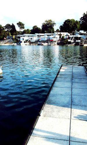 Taking Photos Lake Lake View Sittingonthedock Edited Water Blue ☀ Pretty♡