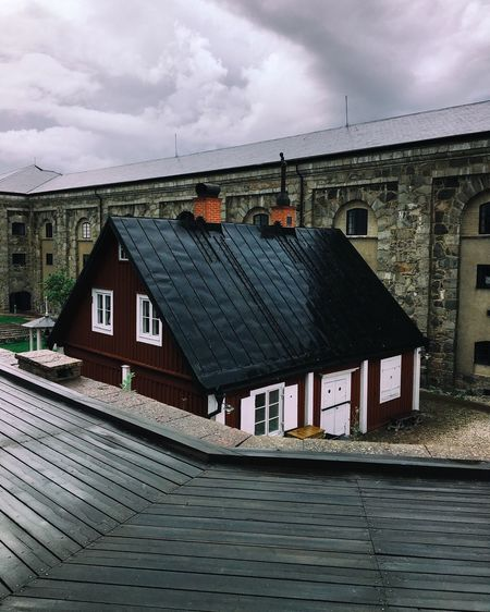 House Architecture Outdoors Roof Sweden Karlskrona The Week On EyeEm Europe Scandinavia