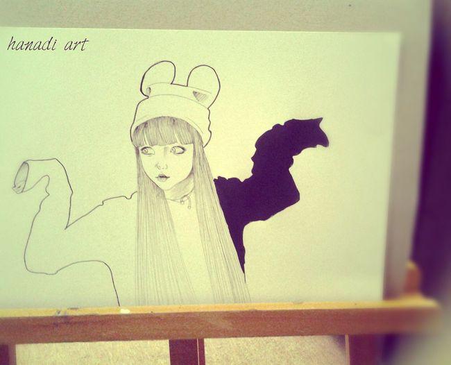 My Draw ♥ Hanadiart Art Sparkle