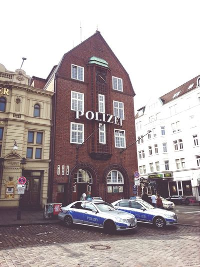 Hamburg Police Davidwache Kiez