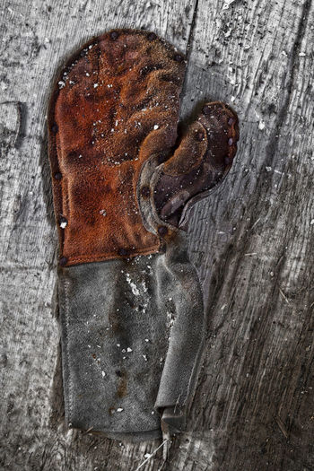Glove Brown Close-up Day Door No People Outdoors Wood - Material Workers Glove