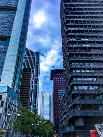 Skyscraper Architecture City Modern Sky No People Outdoors Day Frankfurt Frankfurt Am Main Germany🇩🇪 EyeEmNewHere