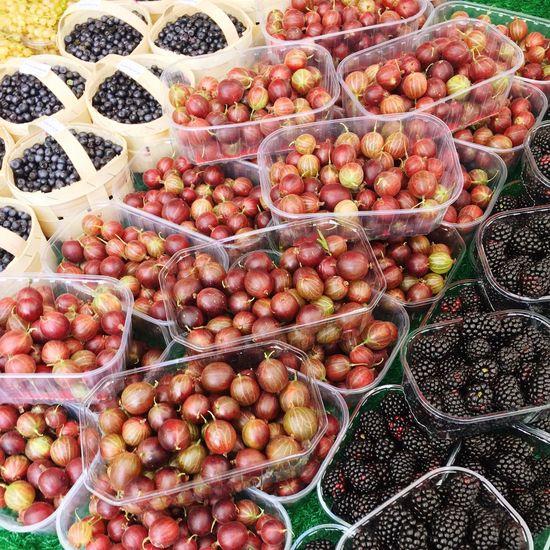 Gooseberry Gooseberries Blackberry Blackberries Berries Berry Fruit Fruit Food Fresh Fruits Market