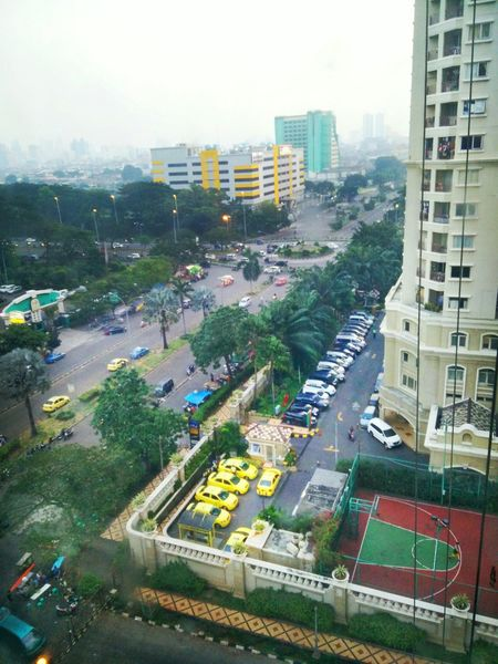 Jakarta in the morning Taking Photos One Plus One Apartment Cityscape Citylife Fresh