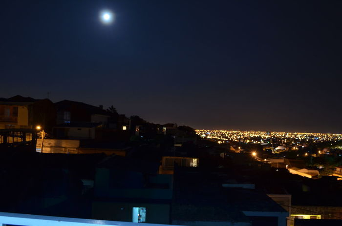 CALI COLOMBIA EyeEmNewHere Moon Over The City City Cityscape Moon Night Night Sky Lost In The Landscape EyeEm Ready   Mobility In Mega Cities Stories From The City This Is Latin America Adventures In The City