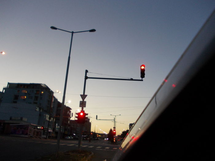 Red means Stop! Burgas, Bulgaria City City Street Crossroads Day Low Angle View No People Outdoors Pole Red Light RED Means STOP! Road Road Sign Sky Stoplight Street During Sunset Street Light Sunset Over The Street Traffic Light  Traffic Lights Traffic Sign Traffic Signal Traffic Signals Traffic Signs Trafficlight
