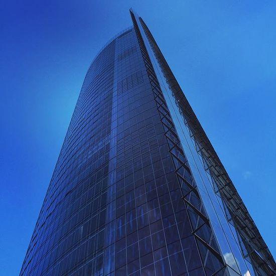 Posttower Deutschepost Bonn Sky Noclouds Blue Bluesky Tower