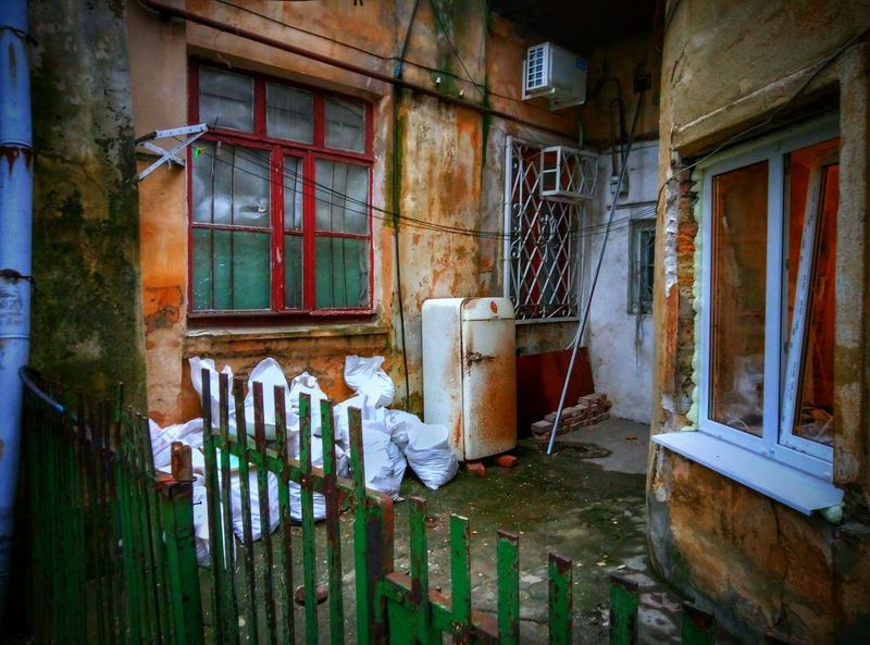 My home Town views make me cry sometimes. A typical scene in one of the backyards in the City center. They say there is something lyric about it. Not for me though. City Life HDR Hdr_Collection Misery East EastEurope Osteuropa EyeEm Best Edits Neighborhood