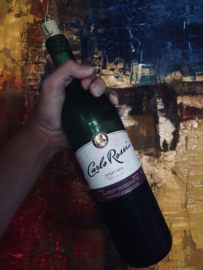 Kampai Human Hand Wine Bottle