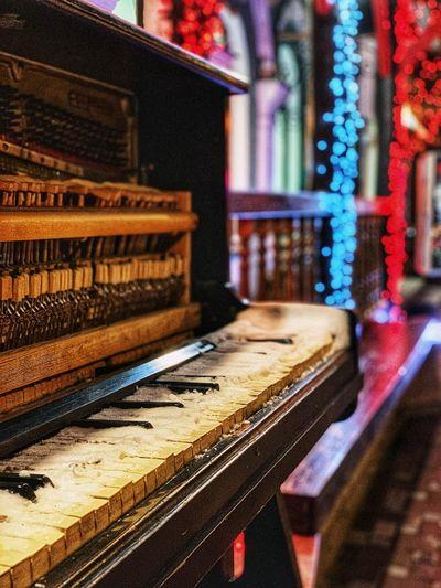 The piano ain't