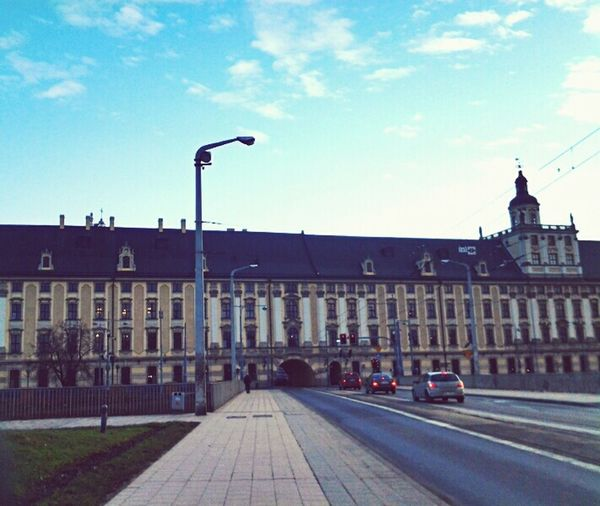 Wroclaw, Poland Wroclove Uniwersytet Uwr Wonderful Day