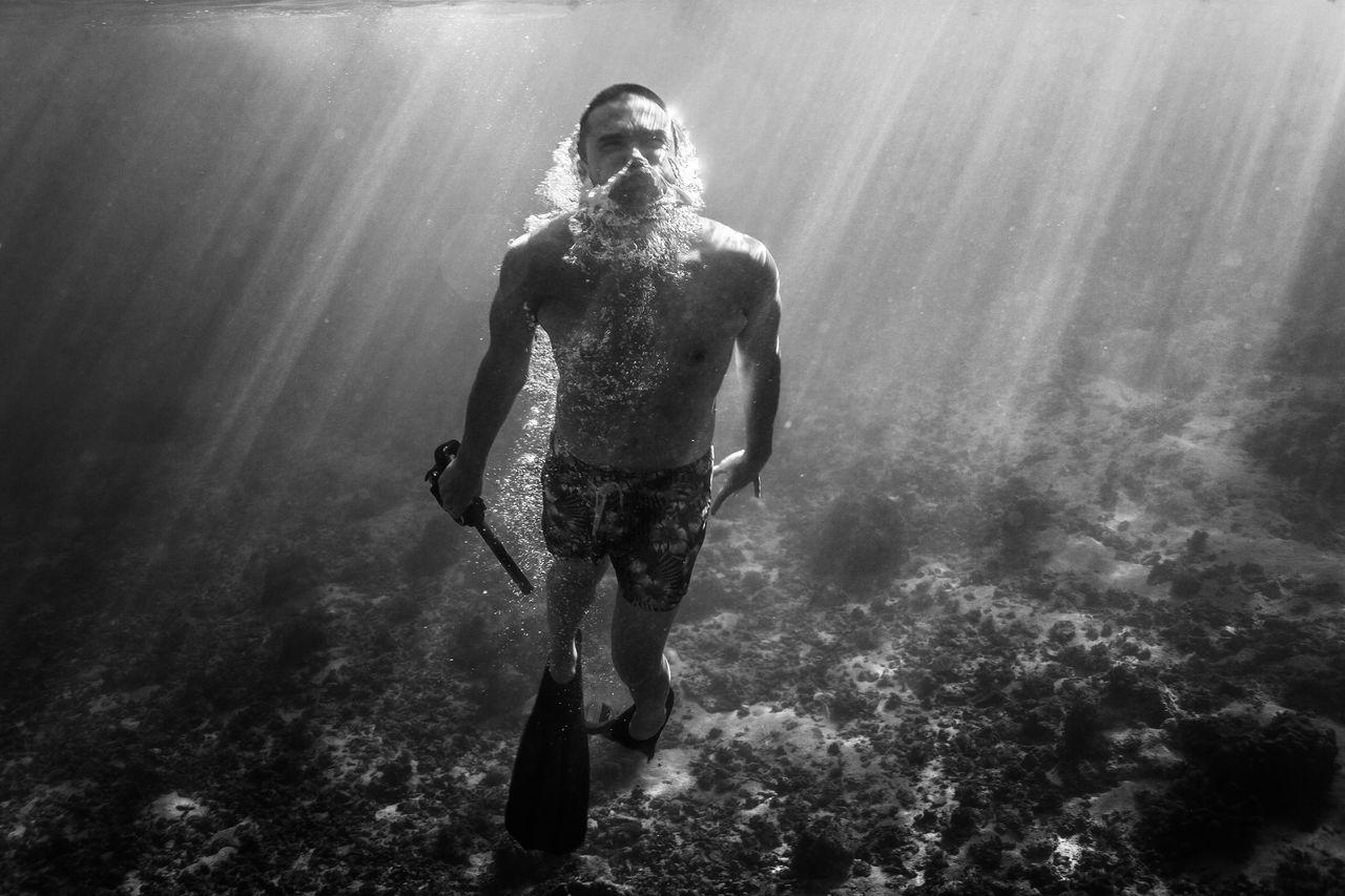 35-39 Years, Diving Flipper, Mid Adult Men, adventure, aquaculture