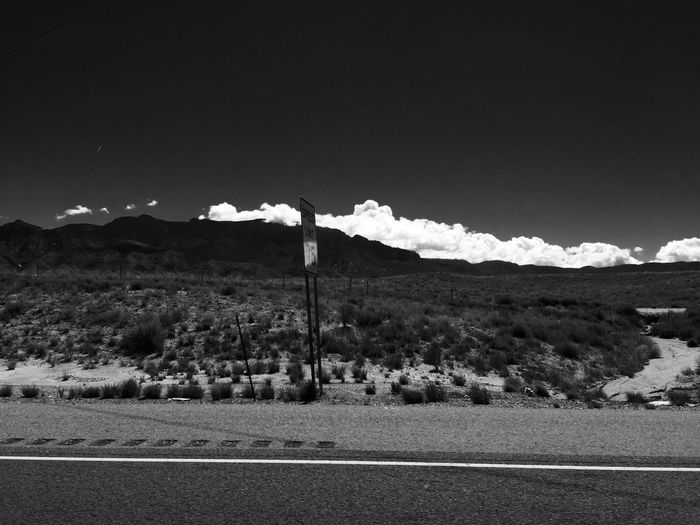 Beautiful Nature Clouds And Sky Newmexico Cloudporn Blackandwhite