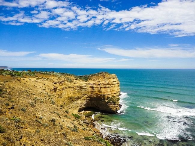 Melbourne Travel Photography Greatoceanroad Travel Destinations Nature Sky Vacations Sunny Sea Sand