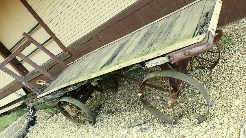 Old Wagon Beautiful Antique Leftbehind Trainstation Abandoned Historic Oldie
