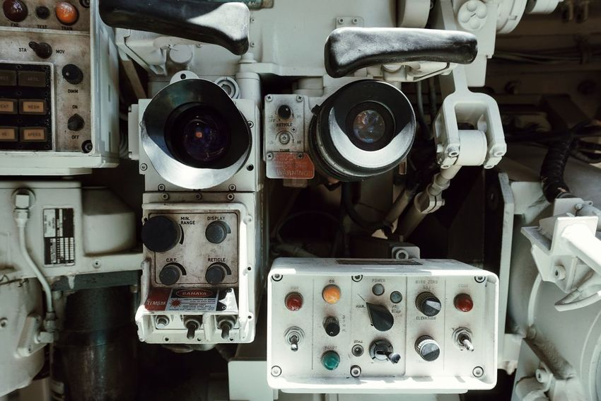 The eyes. No People Technology Indoors  Tank Navybase