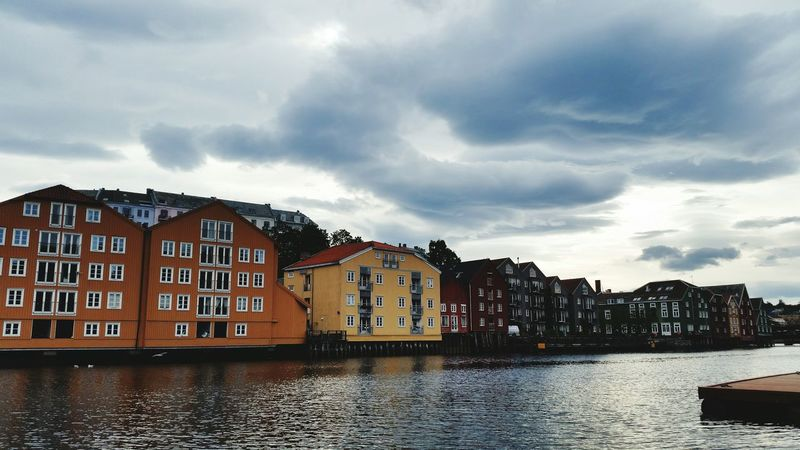Nidelven river in Trondheim Riverside Norway River View Trondheim That's Me Enjoying Life Hello World Norway 2015