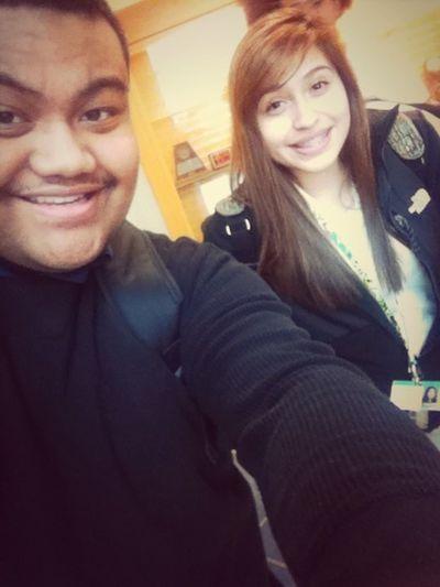 Kelly & I.