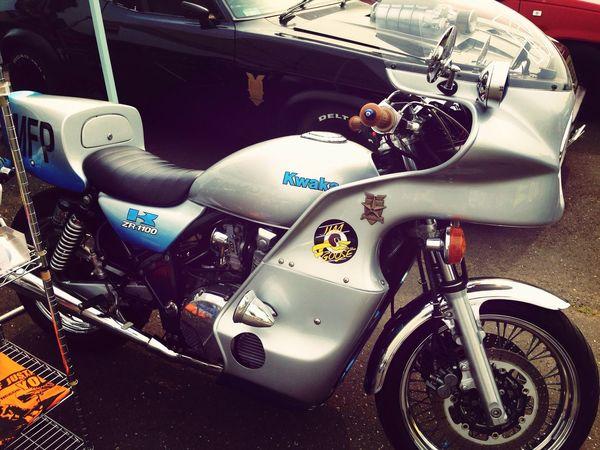 グースのバイク