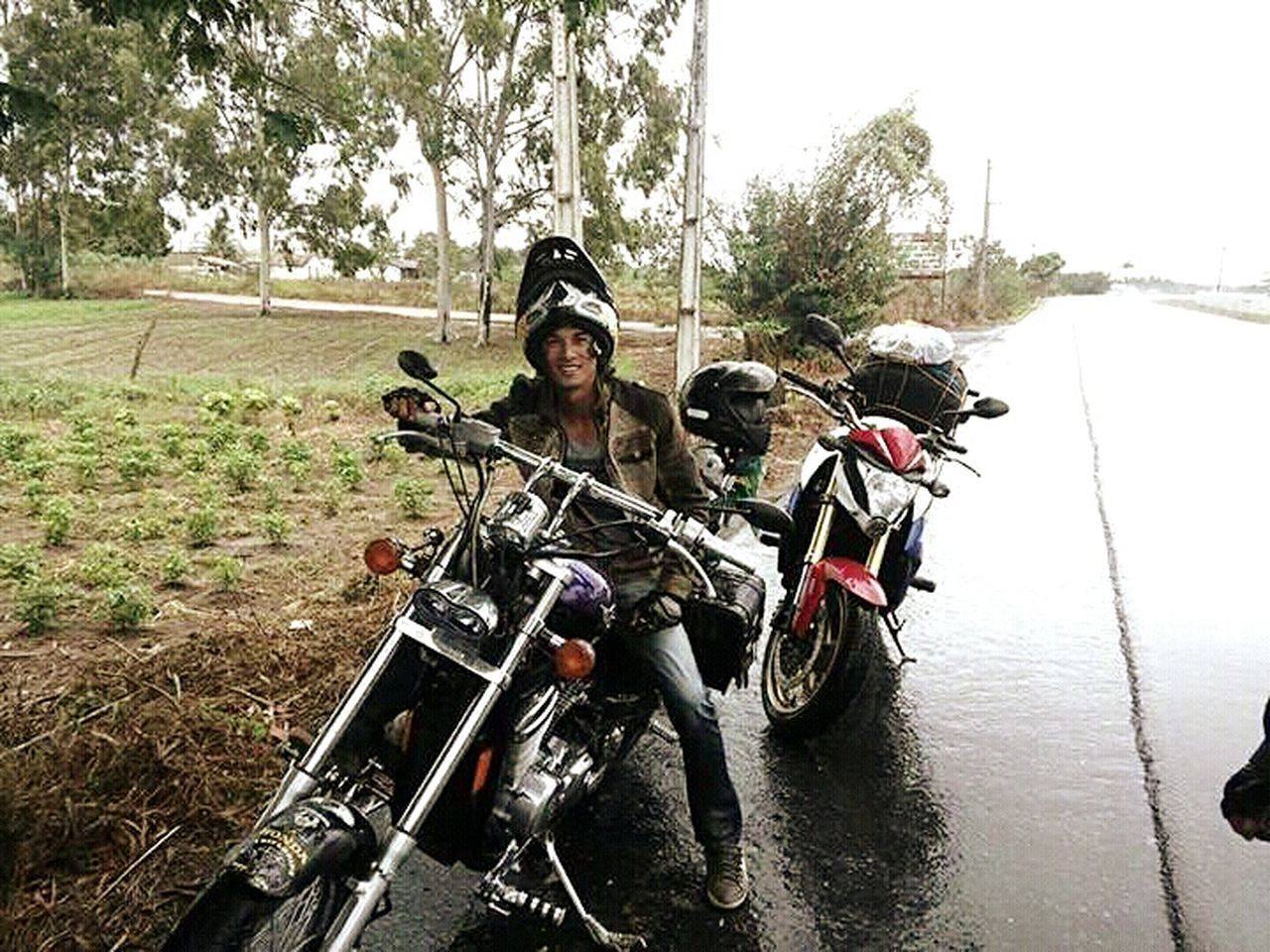 Pegando a estrada. MotoClube Adventure