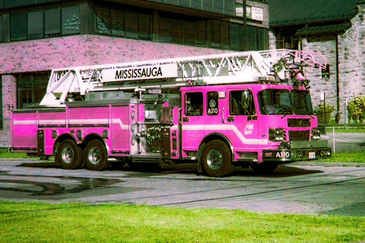 Pink Fire Truck Anyone? [IR] Better Look Twice City City Life Emergency Services Emergency Vehicle Eye4infrared Eye4photography  Fire Engine Fire Engines Fire Truck Fire Trucks Infrared Infrared Photography Pink Pink Color Pink Colour Street Street Photography Streetphotography Taking Photos